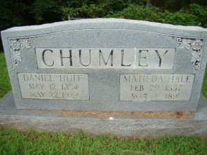 Chumley Cemetery, Cumberland Gap, Claiborne County, Tennessee