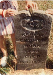 Robert Chumley Tombstone King Cemetery in Polk County Missouri